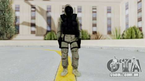 Hodeed SAS 2 para GTA San Andreas segunda tela