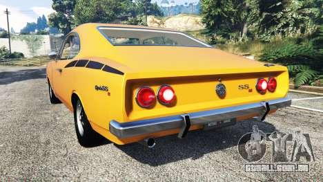 Chevrolet Opala SS4 1975 para GTA 5