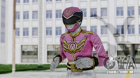 Power Rangers Samurai - Pink para GTA San Andreas