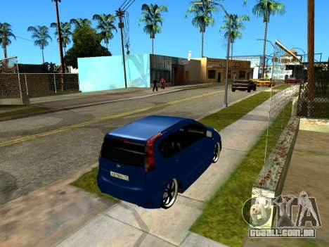 Nissan Note KURMIN StreetRacer para GTA San Andreas vista interior