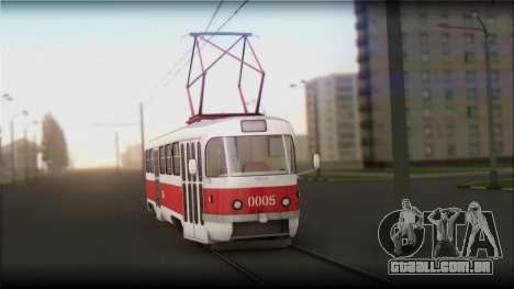 Tatra T3SU para GTA San Andreas