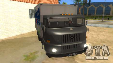 IFA W50 para GTA San Andreas vista traseira