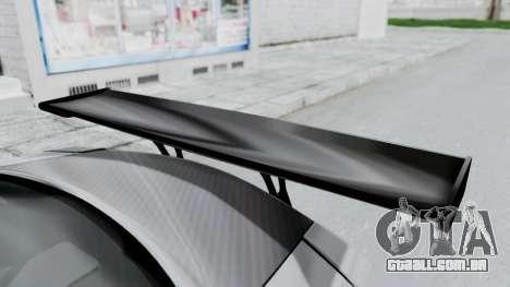 Nissan GT-R R35 2010 Liberty Walk para GTA San Andreas vista traseira