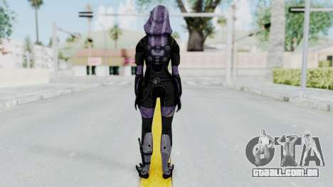 Mass Effect 3 Tali Zorah Unmasked para GTA San Andreas terceira tela