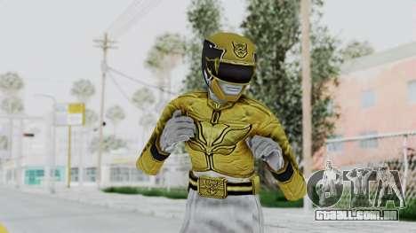 Power Rangers Megaforce - Yellow para GTA San Andreas