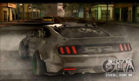 Ford Mustang RTRX Coupe para GTA San Andreas esquerda vista