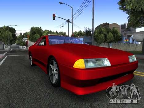Elegy PFR v1.0 para GTA San Andreas interior