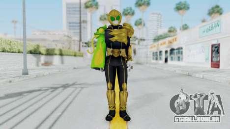 Kamen Rider Beast Chameleo para GTA San Andreas segunda tela