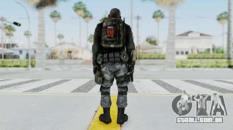 Battery Online Soldier 3 v4 para GTA San Andreas terceira tela
