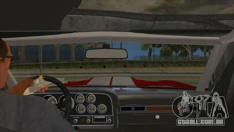 1972 Ford Gran Torino Drag para GTA San Andreas vista interior
