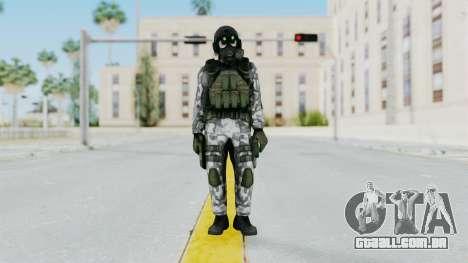 Black Mesa - HECU Marine v1 para GTA San Andreas segunda tela