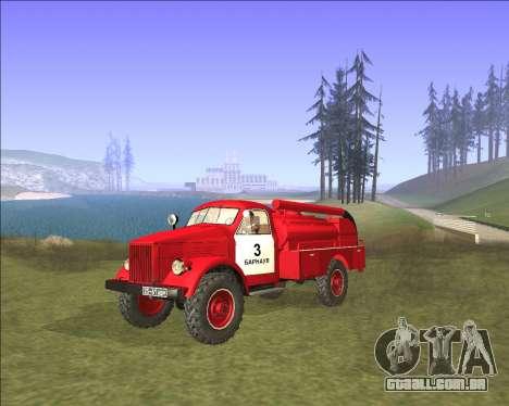GAZ 63 de bombeiros para GTA San Andreas