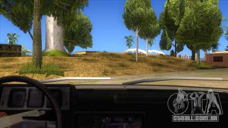 Kartal 2007 69 Serisi para GTA San Andreas vista interior