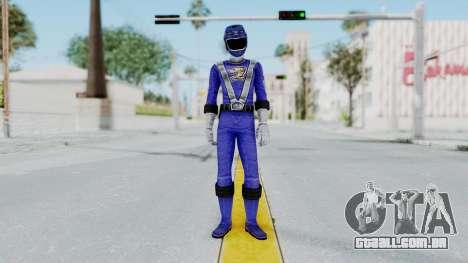 Power Rangers RPM - Blue para GTA San Andreas segunda tela