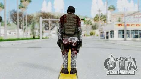Black Mesa - Wounded HECU Marine Beret para GTA San Andreas terceira tela