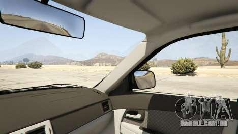 GTA 5 Lada Priora v.2.3 traseira direita vista lateral