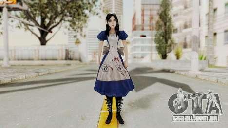 Alice Madness Returns para GTA San Andreas segunda tela
