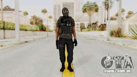 CoD AW KVA SMG para GTA San Andreas segunda tela