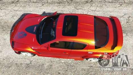 GTA 5 Mazda RX-8 2004 voltar vista