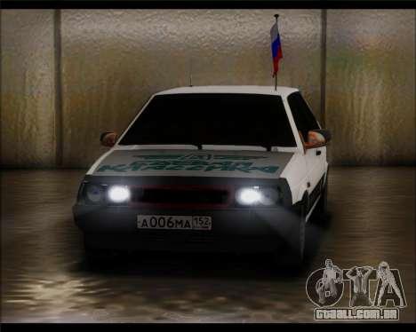 VAZ 2108 Militar Clássicos para GTA San Andreas