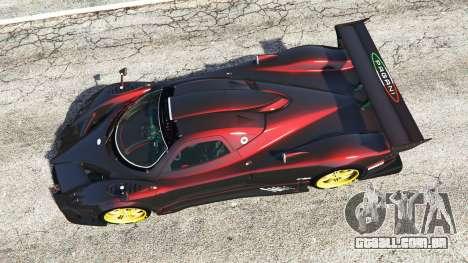 Pagani Zonda R para GTA 5