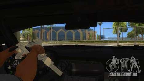 Mercedes Benz SLS AMG GT3 para GTA San Andreas vista inferior