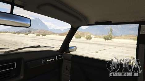 GTA 5 Lada 2107 traseira direita vista lateral