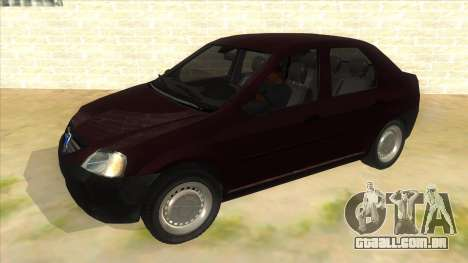 Dacia Logan V2 Final para GTA San Andreas