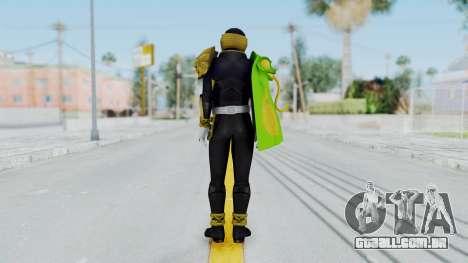 Kamen Rider Beast Chameleo para GTA San Andreas terceira tela