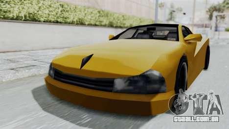 Cheetah ZTR v1 para GTA San Andreas traseira esquerda vista