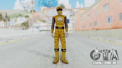 Power Rangers Ninja Storm - Yellow para GTA San Andreas segunda tela