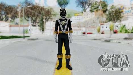 Power Rangers RPM - Black para GTA San Andreas segunda tela