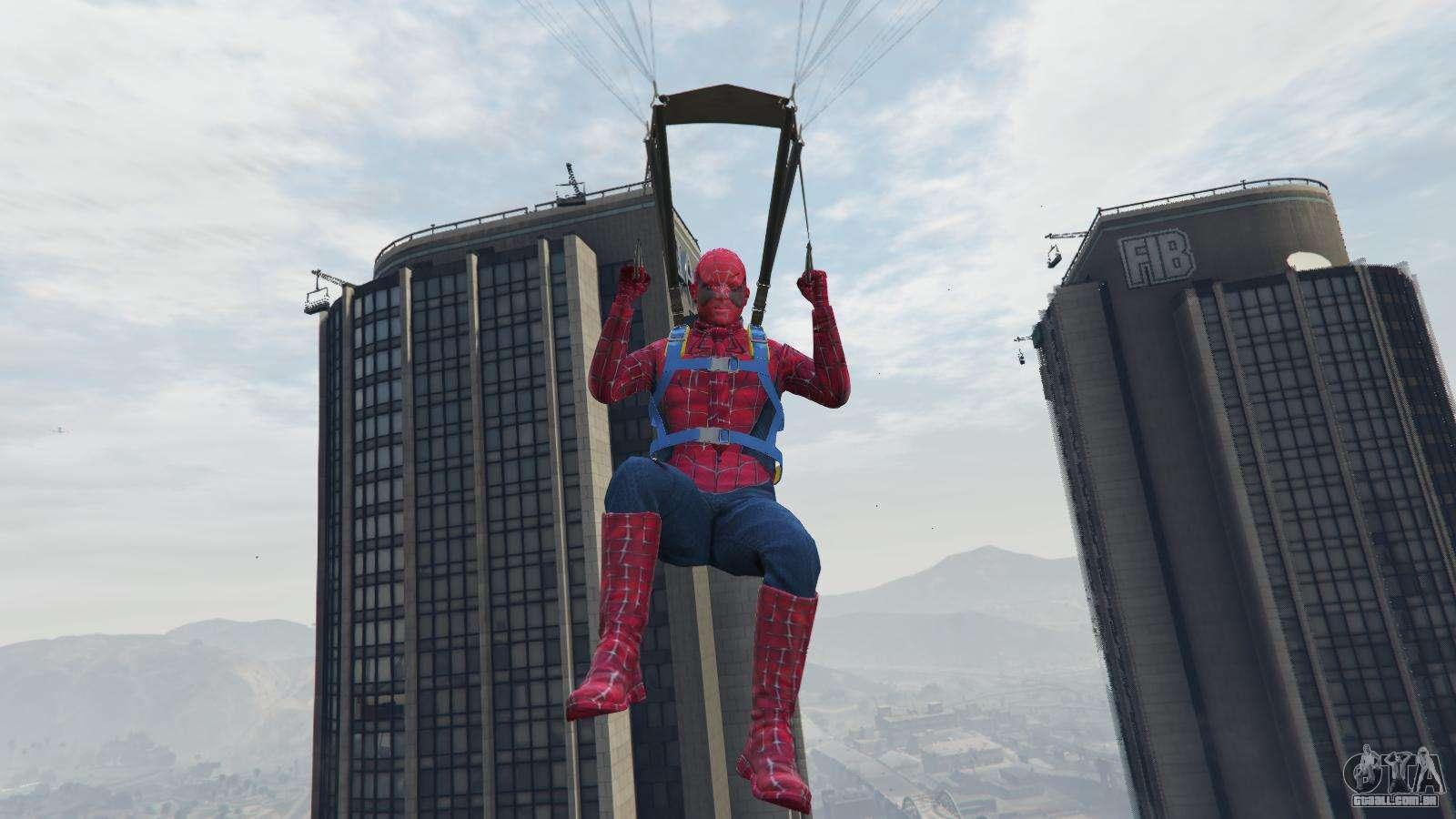 Homem-aranha para GTA 5