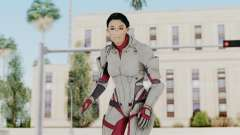 ME 1 Ashley Williams Default White Armor