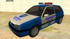 Volkswagen Golf 3 Police
