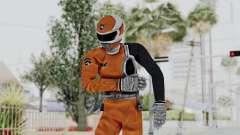 Power Rangers S.P.D - Orange para GTA San Andreas