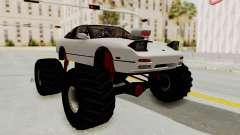 Nissan 240SX Monster Truck para GTA San Andreas