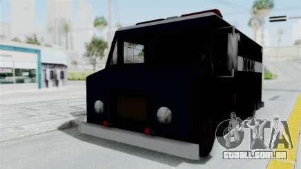 CCPD Boxville from Manhunt para GTA San Andreas