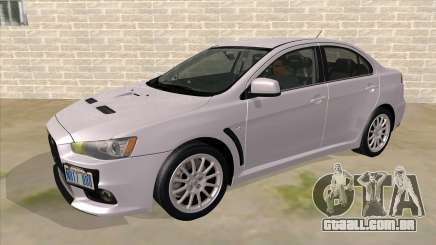 Mitsubishi Lancer Evolution X Tunable para GTA San Andreas