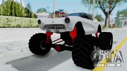 Chevrolet Corvette C1 1962 Monster Truck para GTA San Andreas