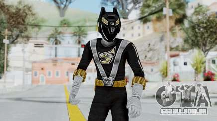 Power Rangers RPM - Black para GTA San Andreas