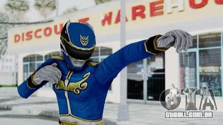 Power Rangers Megaforce - Blue para GTA San Andreas