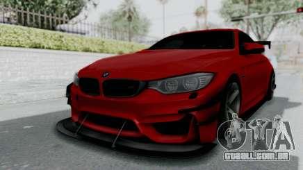 BMW M4 F82 Race Tune para GTA San Andreas
