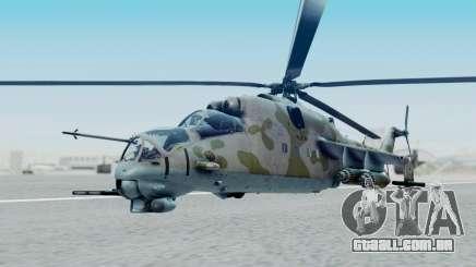 Mi-24V Ukraine Air Force 010 para GTA San Andreas