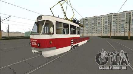 Tatra T3 serviço para GTA San Andreas