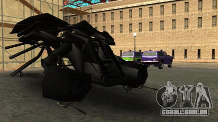 The Dark Knight Rises BAT v1 para GTA San Andreas
