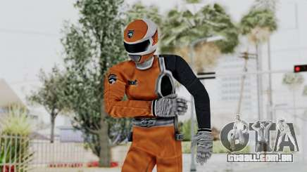 Power Rangers S.P.D - Orange para GTA San Andreas