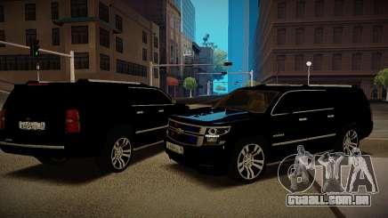 2015 Chevrolet Exterior Ministério para GTA San Andreas