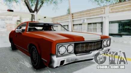 GTA Vice City - Sabre Turbo (Unsprayable) para GTA San Andreas