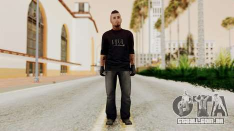 GTA 5 Tattooist v1 para GTA San Andreas segunda tela